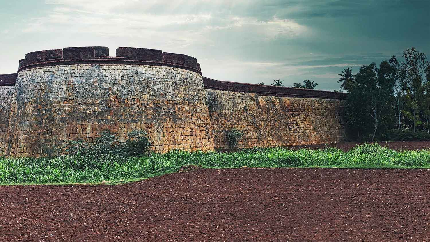 The Devanahalli Fort in Bangalore