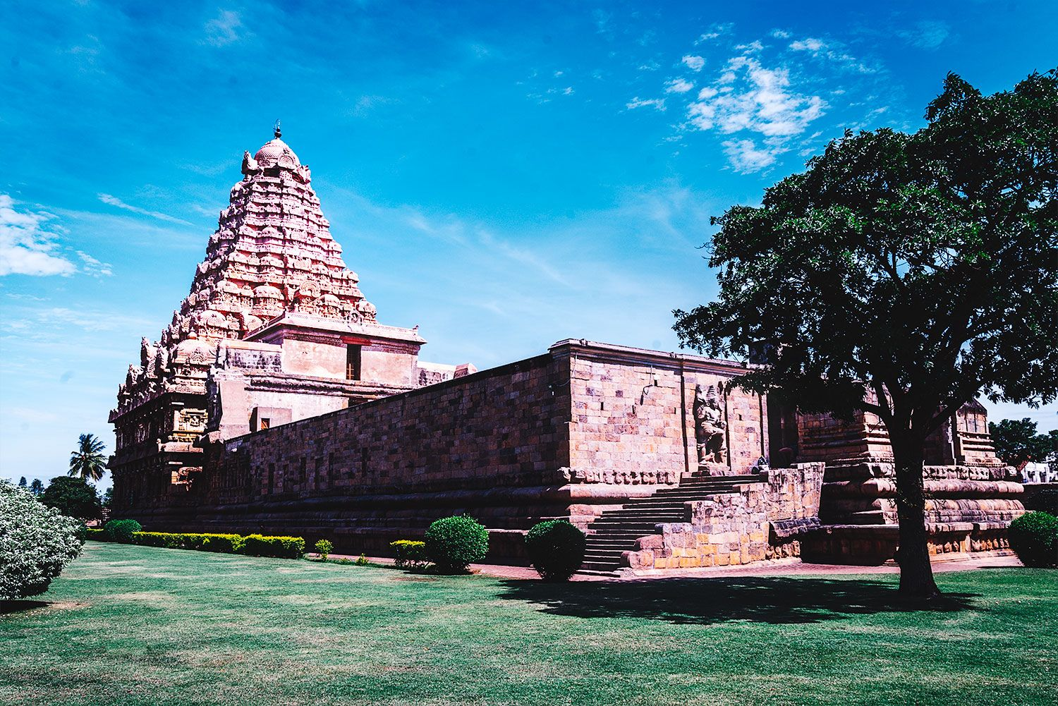 The Chola Temple at Gangaikonda Cholapuram