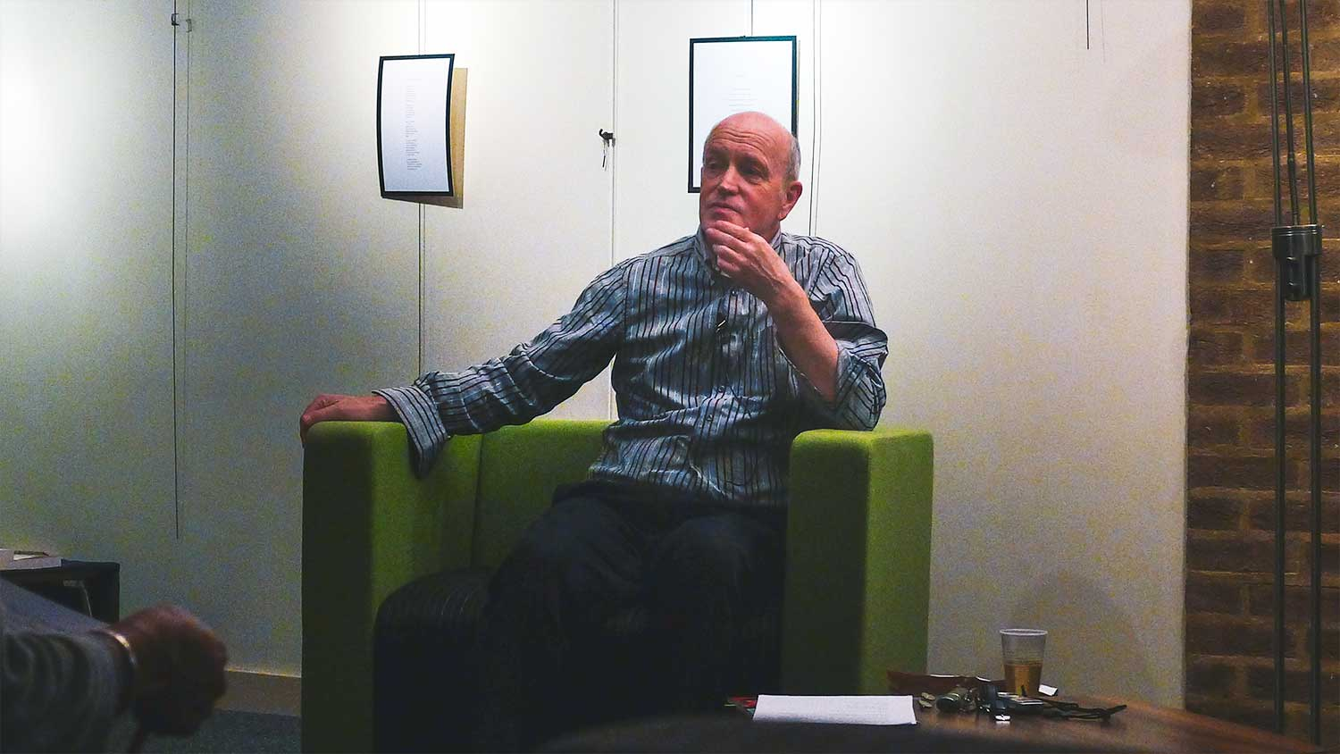 The Writing Craft, the Formidable Iain Sinclair, Allen, Sedaris
