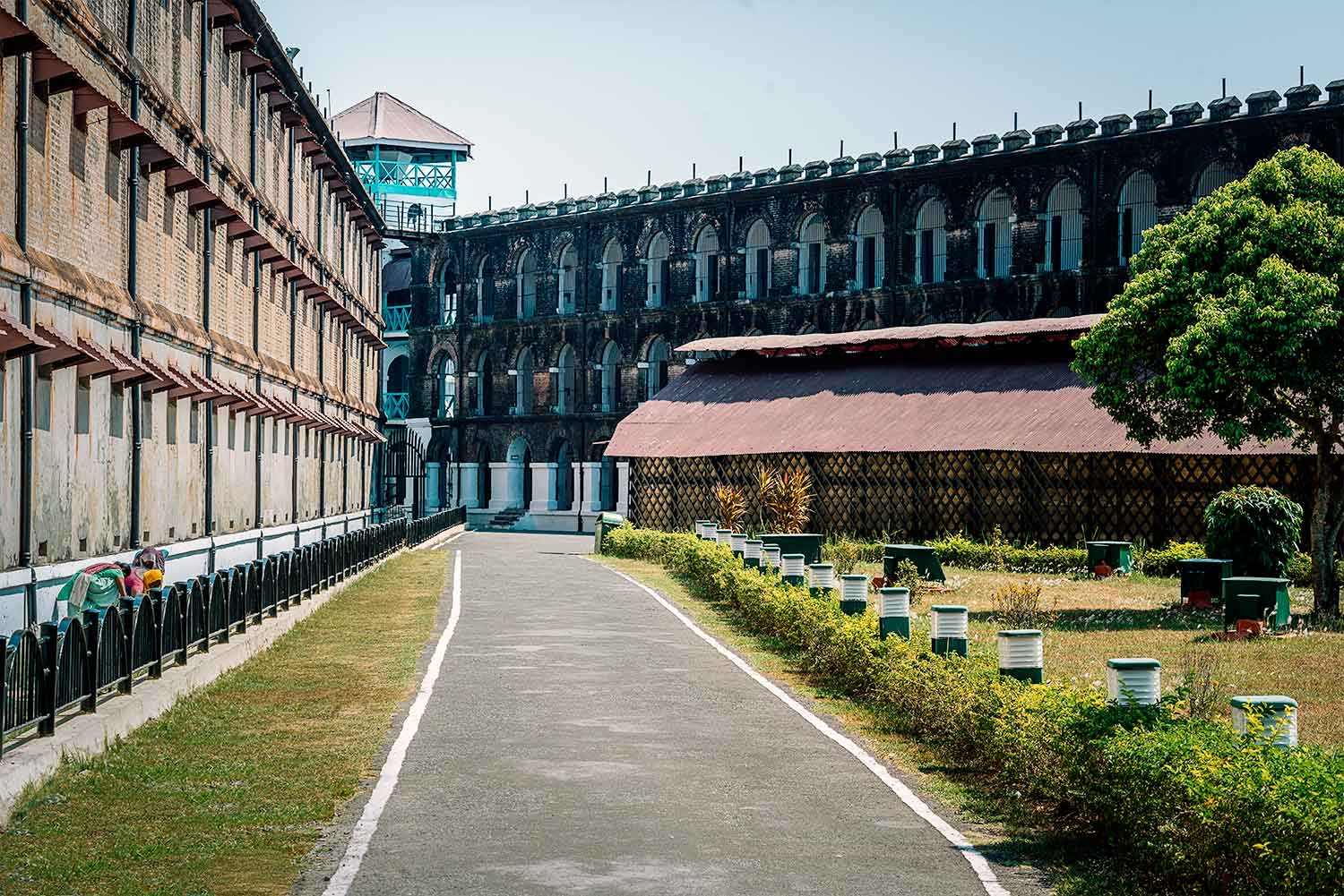 The Cellular Jail in the Andamans