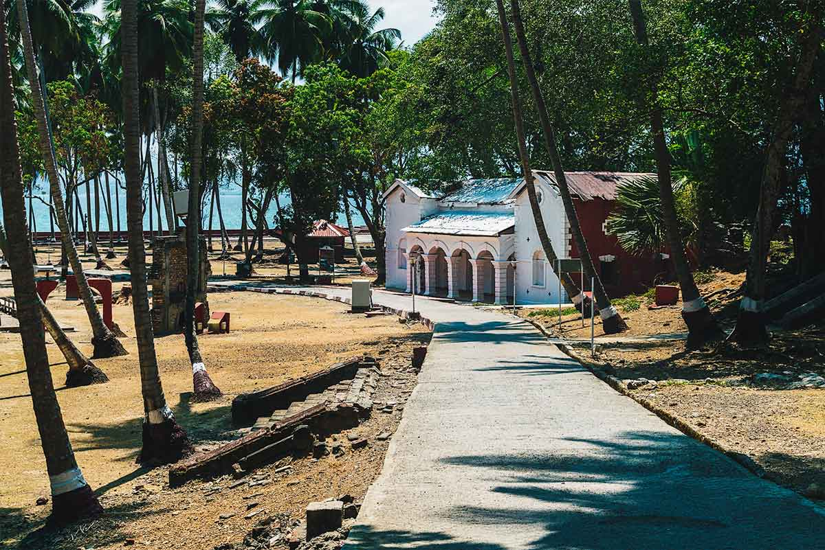 The Bakery on Ross Island, Andaman and Nicobar