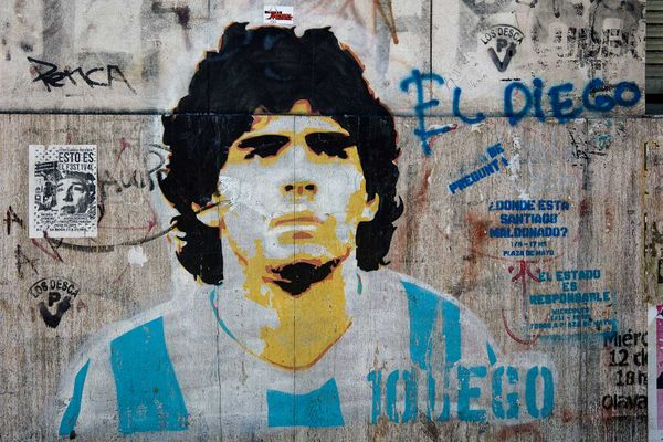 Maradona, Mortality, and the Crow and the Cat